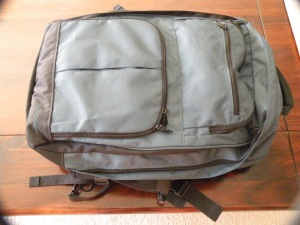 My only baggage - one carry on