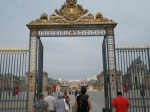 Front gate to Versailles