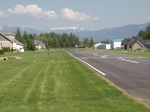 The Lynden Municipal Airport, right in the middle of a residence area